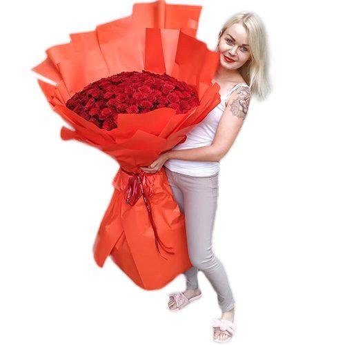 101 метровая роза фото товара